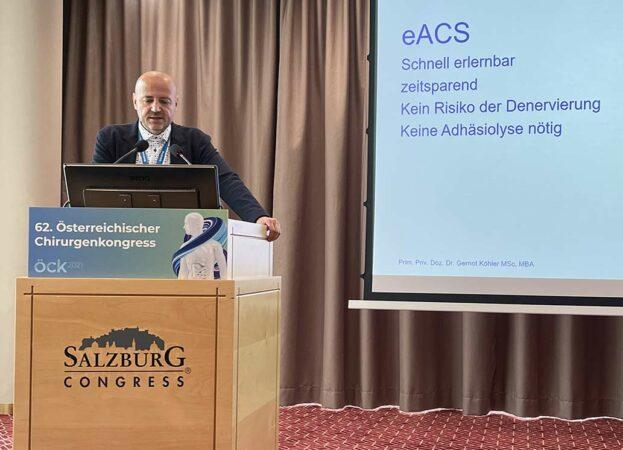 Köhler ist neuer Präsident der Österreichischen Herniengesellschaft